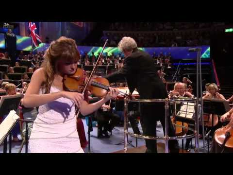 Nicola Benedetti plays Bruch at the Last Night of the Proms 2012