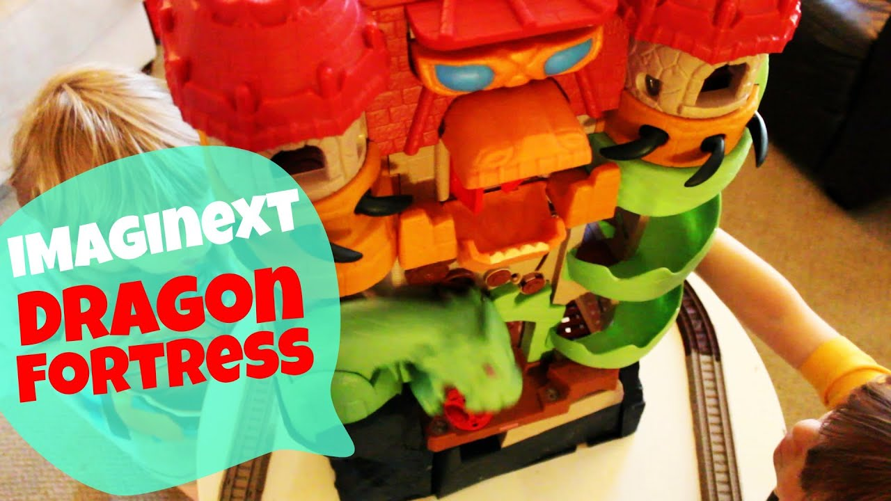 Fisher Imaginext Dragon World Fortress
