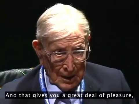 John Wooden TED Talk 2001 - Very Funny and Inspiring