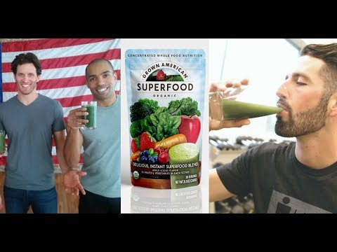 Grown American Superfood Organic Commercial - As Seen On TV