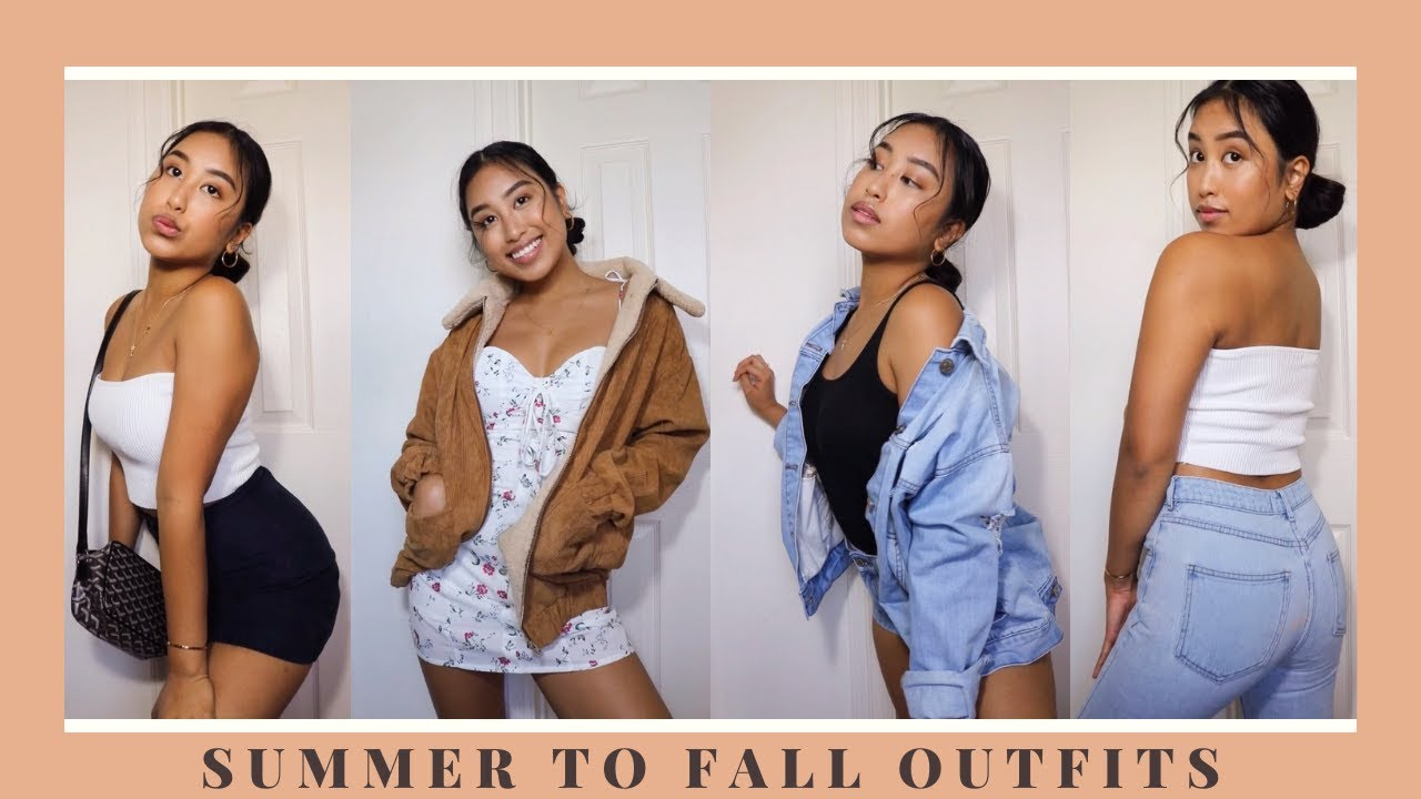 [VIDEO] - summer to fall outfit inspiration 2019 2