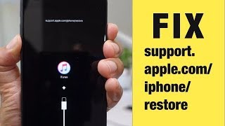iPhone 6S/6/5s Stuck support.apple.com/iphone/restore. FREE to Exit