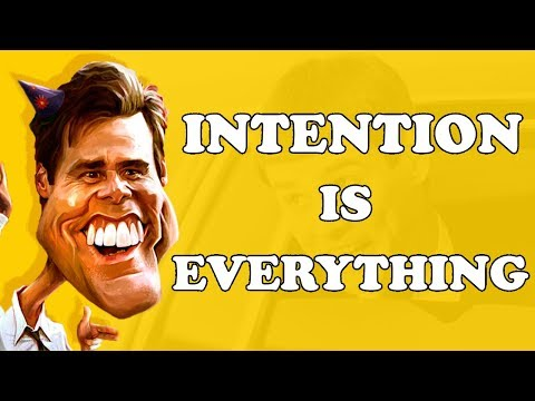 INTENTION IS EVERYTHING by Jim Carrey  Motivational  Inspirational  Speech