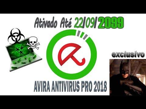 INSTALAR O AVIRA 2018  Até 2099