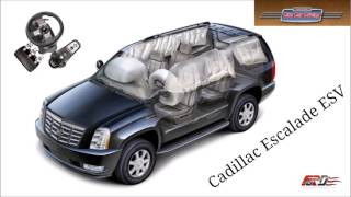 [ City Car Driving ] Cadillac Escalade - тест-драйв, обзор Logitech G27