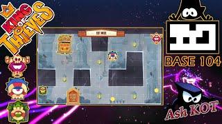 King Of Thieves Insane Base Defences Base 104 - Random Traps Designed By Granel