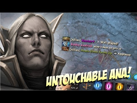 NO ONE CAN STOP ANA! - Invoker Ana 2x Rampage - Top Pro Player Dota 2