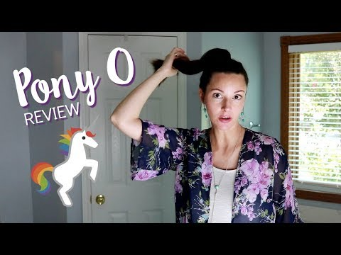 Pony O Hair Accessory REVIEW & FIRST IMPRESSIONS