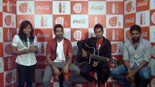 Coke Ekka Rock Wenna Live Hangout with Daddy at Music.lk