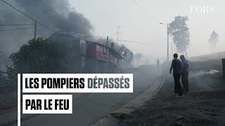 Au Portugal, les pompiers dépassés par les incendies qui ravagent le centre du pays