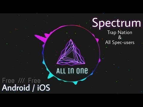How To Make A Spectrum Music 😀 Android / iOS Like Trap Nation & All Others