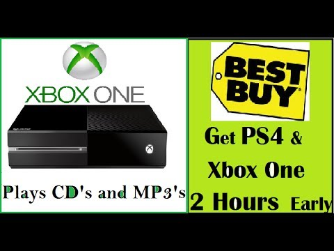 Xbox One plays CD's & MP3's. Get PS4 2 Hours Early at Best Buy. Xbox One Spinoff