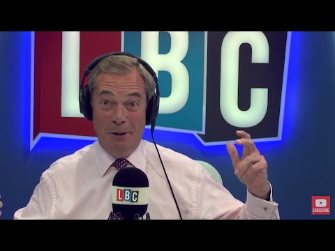 The Nigel Farage Show: Working Class & Governor Bryant. Live LBC - 15th May 2017