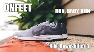 "Nike Downshifter 8 ""Grey"" (908984-004) Onfeet Review 