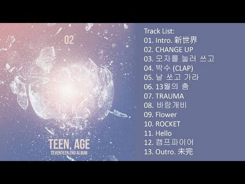 [Full Album] SEVENTEEN – TEEN, AGE (Album)