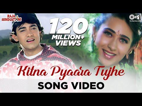 Kitna Pyaara Tujhe Rab Ne Banaya   Song  Raja Hindustani  Aamir Khan & Karishma Kapoor