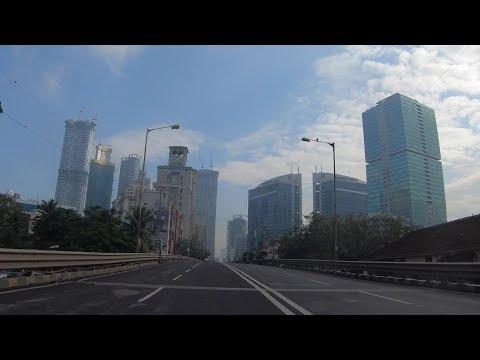Senapati Flyover, Lower Parel Morning Drive | Mumbai's Skyscraper Alley | Mumbai 2018 [4K]