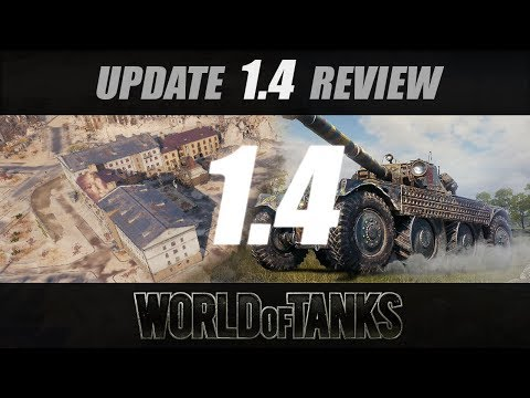 Update 1.4 Review | World of Tanks | [GER]