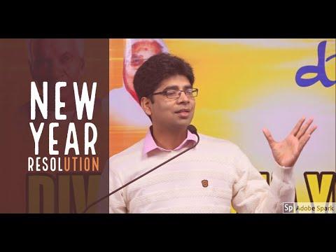 New Year Resolution ||  Manish Kr. Singh  (Co-ordinator DIYA DELHI)