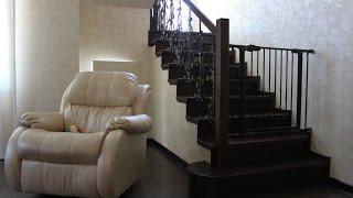 Деревянная лестница из массива дуба ExMassiv(Пожелания на новое видео оставляйте в комментариях. Деревянная лестница из массива дуба ExMassiv Производств..., 2015-03-25T11:03:03.000Z)