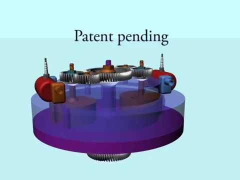 Rotary Engine 全新设计螺旋式发动机   新ロータリーエンジン