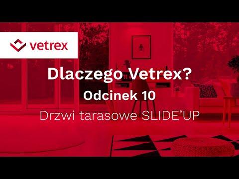 Tarasowe drzwi przesuwne Vetrex SLIDE'UP