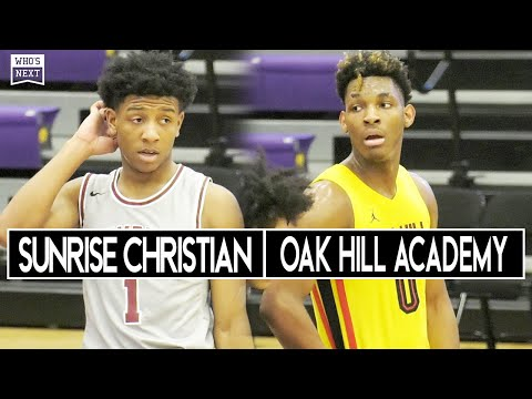 Kennedy Chandler and Sunrise Christian Faced Off vs MJ Rice and Oak Hill Academy! ????