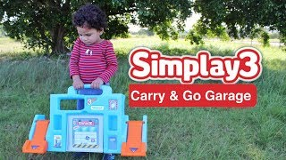Toy Car Garage with Storage | Toy Car Garage | Simplay3 Carry & Go Garage | Videos for Kids