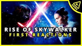 The Rise of Skywalker First Reactions: It's a Mixed Bag! (Nerdist News w/ Dan Casey)
