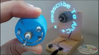 How to make a programmable LED Fan at home