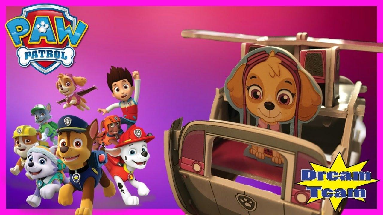 Paw Patrol   Skye Mini 3D Puzzle   Mommy B Review   Dollar ...