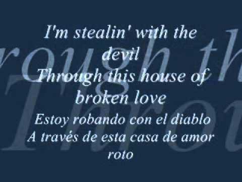 house of broken love - great white (Subtitulado español & lyrics)