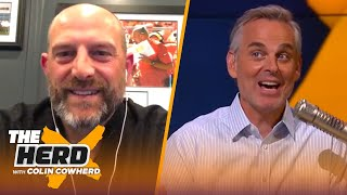 Matt Nagy on the Bears' decision to draft Justin Fields, Andy Dalton's reaction | NFL | THE HERD