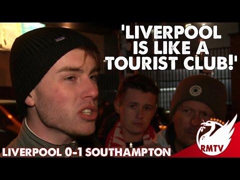 Liverpool v Southampton 0-1   'Liverpool Is Like A Tourist Club!'   LFC Fan Cam