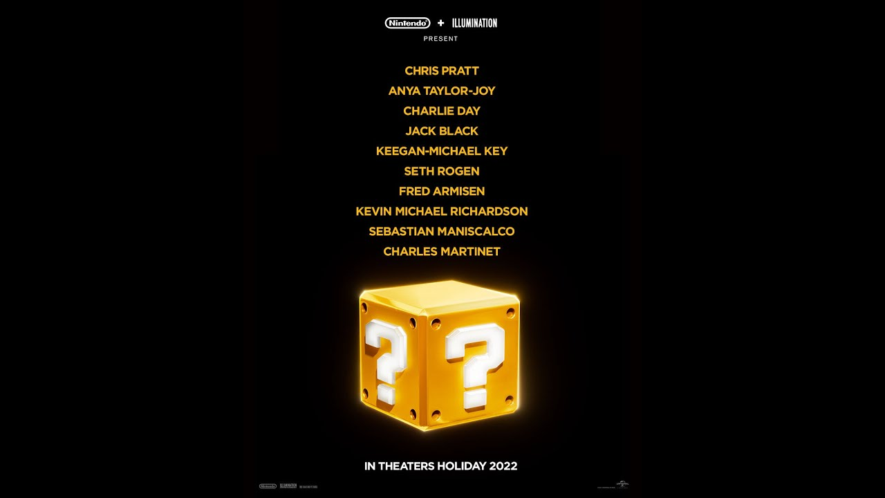 Super Mario Bros. Movie Lands All-Star Voice Cast: Chris Pratt ...