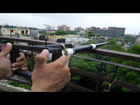Homemade Calcium Carbide Cannon