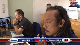HIGHLIGHTS: 2018 Super Rugby Week 9: Sunwolves v Blues #SUNvBLU