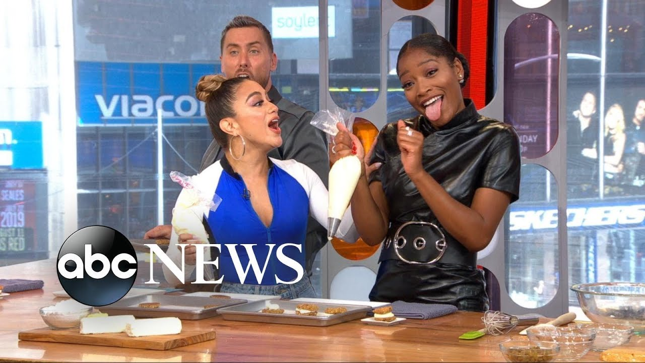 Pop Star Ally Brooke's Killer Cookie Sandwiches