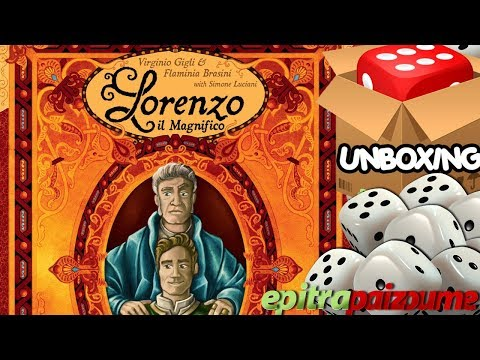 Lorenzo il Magnifico Houses of Renaissance - Unboxing Video (EN) by Epitrapaizoume