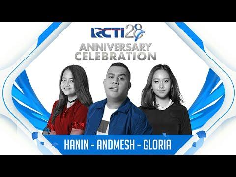 "RCTI 28 ANNIVERSARY CELEBRATION | Hanin - Gloria Jessica - Andmesh ""Asal Kau Bahagia"""