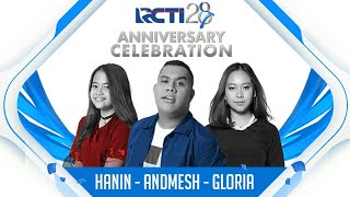 "Download Video RCTI 28 ANNIVERSARY CELEBRATION | Hanin - Gloria Jessica - Andmesh ""Asal Kau Bahagia"" MP3 3GP MP4"