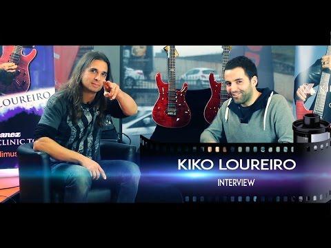 Kiko Loureiro (Megadeth Guitarist) Interview - Ibanez Clinic Tour [PT & ESP Subs]