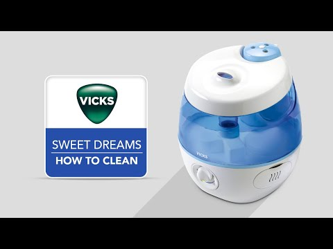Vicks Sweet Dreams Cool Mist Humidifier VUL575 - How to Clean