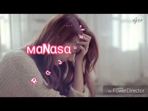 Manasa yendi norukura lyrics song