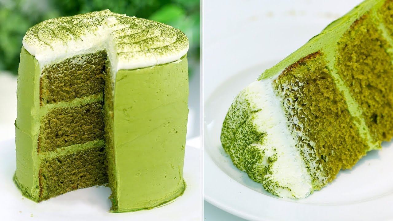 How To Make The PERFECT Matcha Green Tea Cake