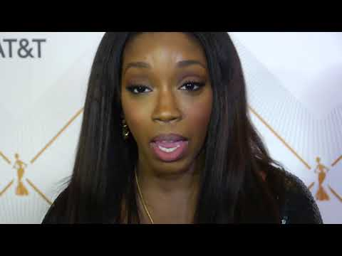 Essence Black Women in Hollywood Red Carpet interviews 2018