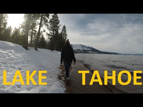 South Lake Tahoe Winter in 4K