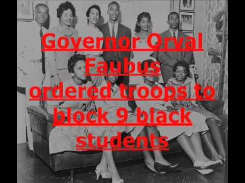 American Black Civil Rights Movement 1950s 1960s