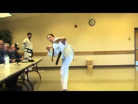 Hups TaeKwon-Do Blackbelt Testing 9-19-15
