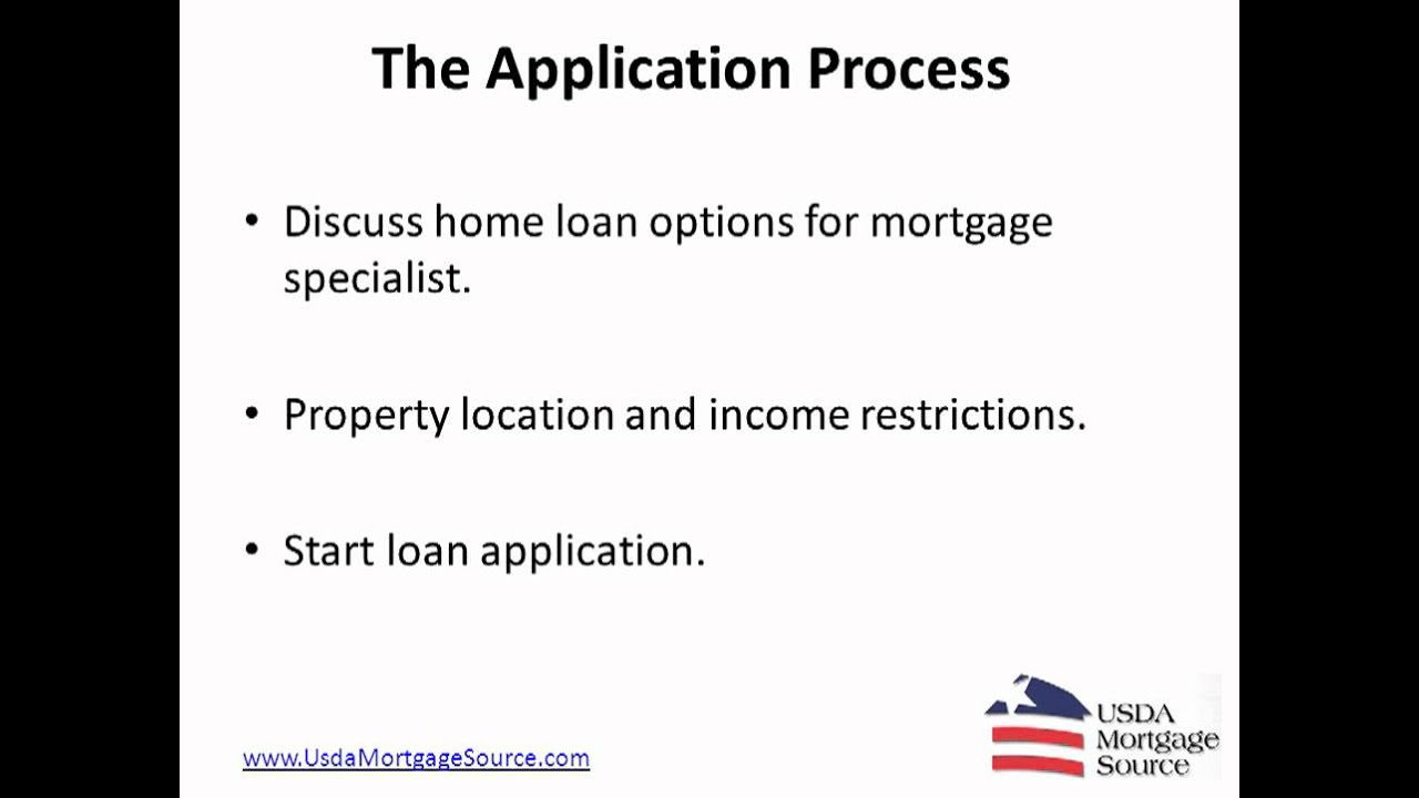Usda Home Loan Application Brew Home